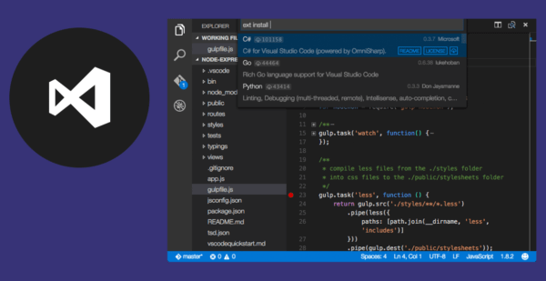 Visual Studio Code 1.15