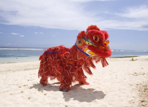 Chinese New Year in Bali