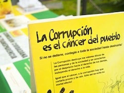 The Honduran govt has denounced corruption in La Ceiba