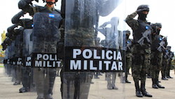 Honduras has increasingly militarized its police