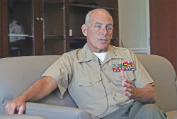 US SouthCom commander General John Kelly
