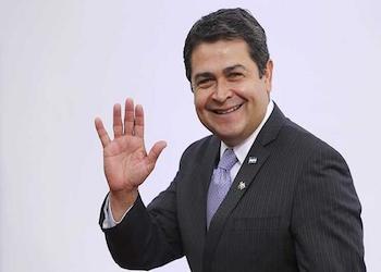 Honduran President Juan Orlando Hernández