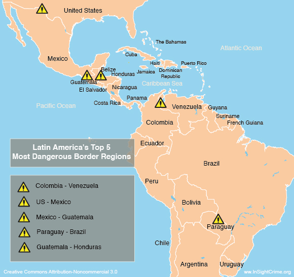 border map