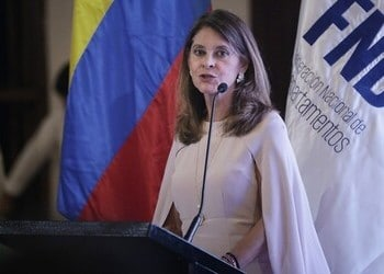 Colombia's Vice President Marta Lucia Ramirez