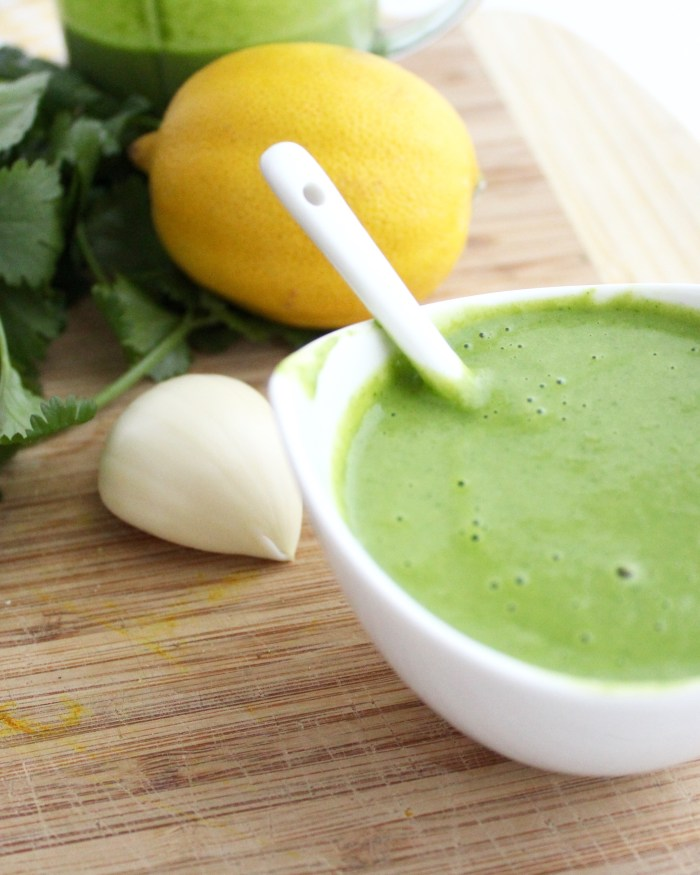 Your new favourite sauce for taco night! Cilantro Sauce! Yum!!!