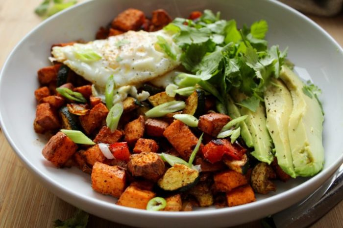 Easy Mexican Sweet Potato Hash. Is it the weekend yet?!
