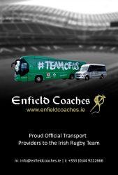 Enfield Coaches - Autumn Internationals 2018 Match Day Program
