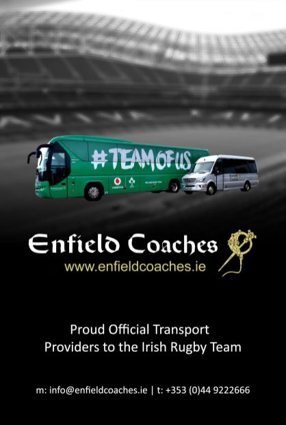 Enfield Coaches - Autumn Internationals 2018 Match Day Program