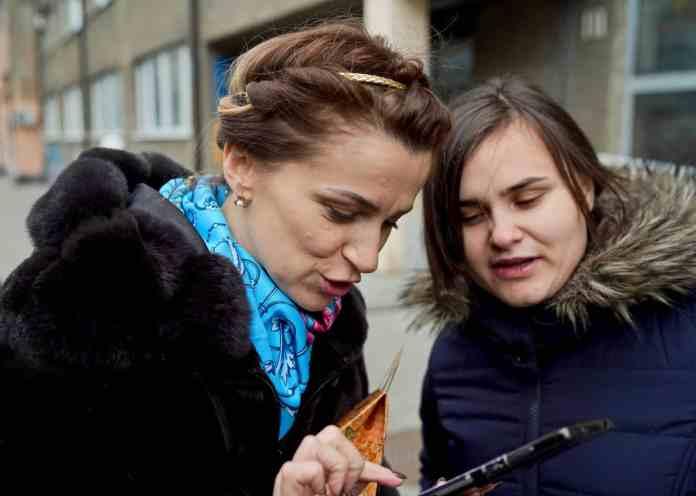 Olena and Martha