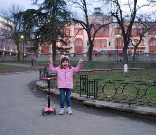 Studentski park chile