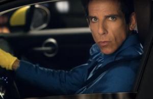 En el spot, el personaje de Zoolander posa para las cámaras de tránsito desde un Fiat.
