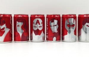 Coca-Cola vistió sus latas al estilo Marvel para esta campaña.