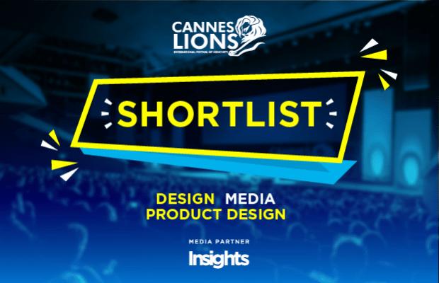 Cannes Lion 2017 shortlist design media product design