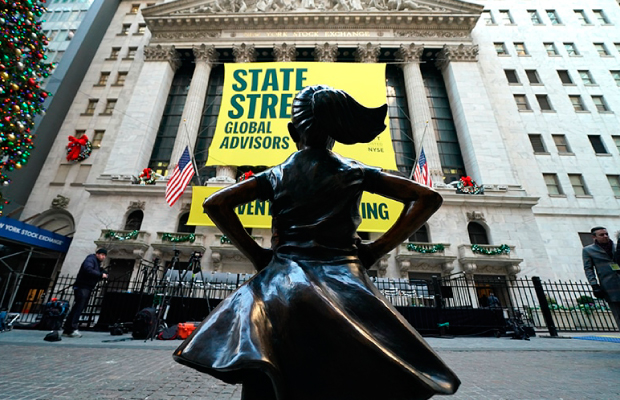 Destacada Fearless Girl Bolsa de Valores Nueva York