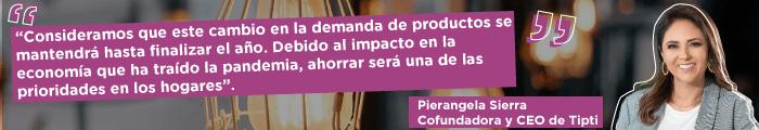 Santa Claus is coming to Zoom: Pierangela Sierra, cofundadora y CEO de Tipti