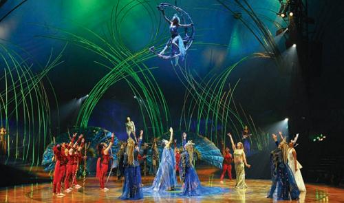 See Cirque du Soleil