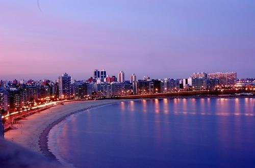 Monte video beach uruguay