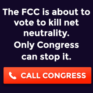 Net Neutrality Banner