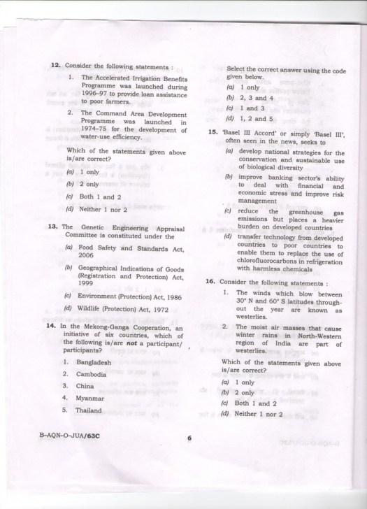 upsc prelims 2015 question paper general studies 1
