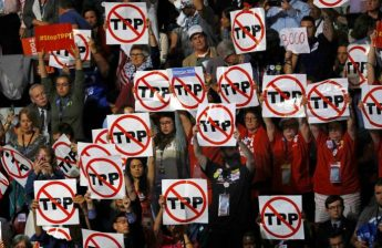 US exit from TPP