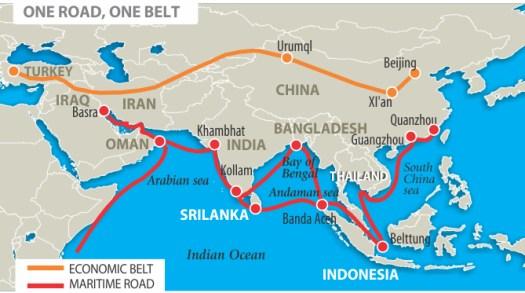one road, one belt