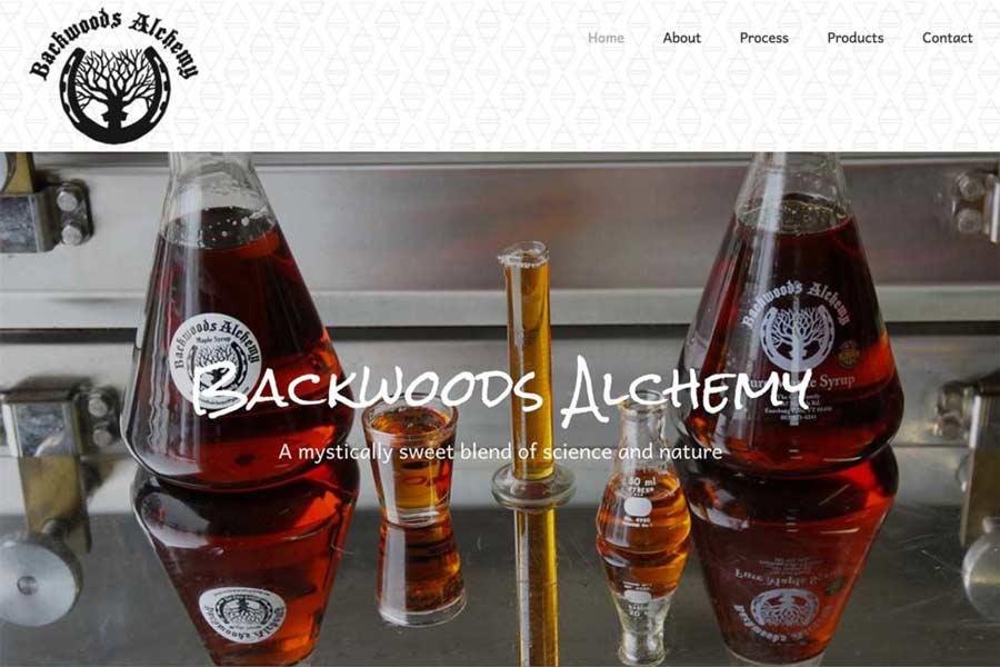Backwoods Alchemy Maple Syrup