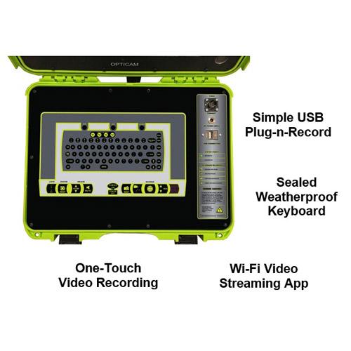 Opticam Command Module Keyboard