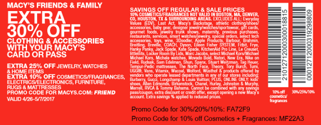 macys employee discount coupons