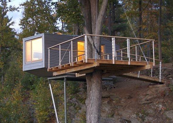 casas na arvore 3 Sempre quis ter uma casa na árvore
