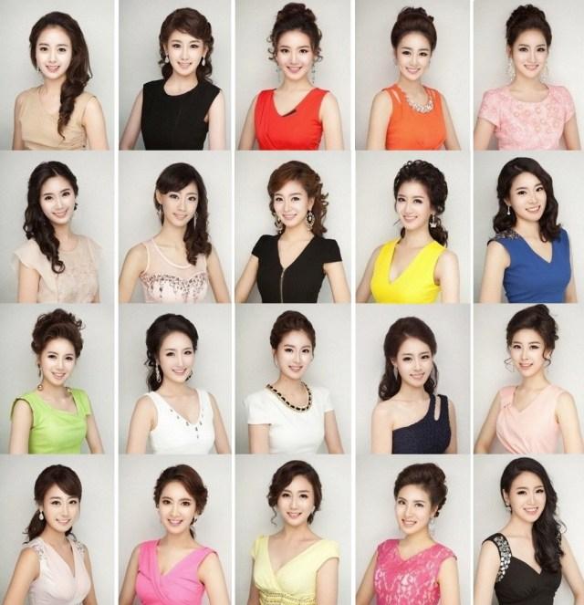 Candidatas-Miss-Coréia