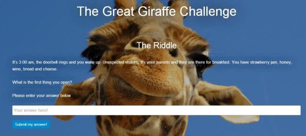 charada girafa
