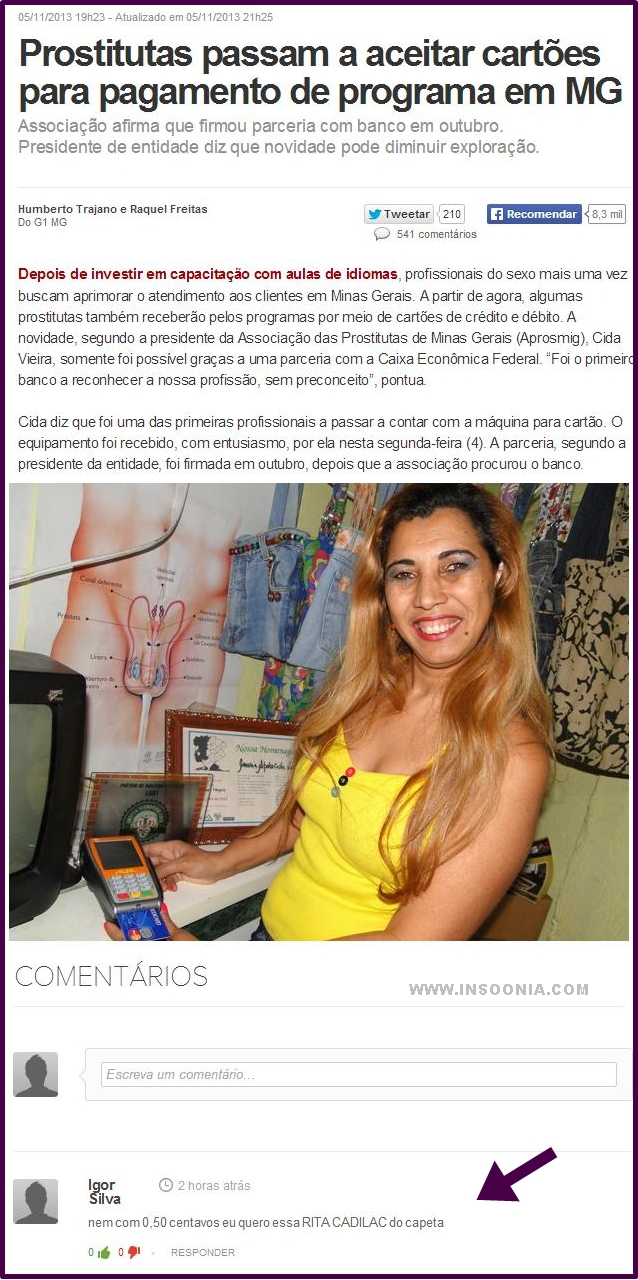 Prostitutas passam a aceitar cartões para pagamento de programa em MG