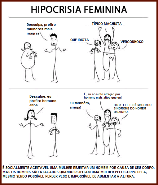 hipocresia-feminina
