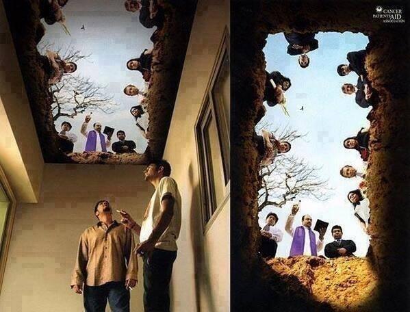 área de fumante
