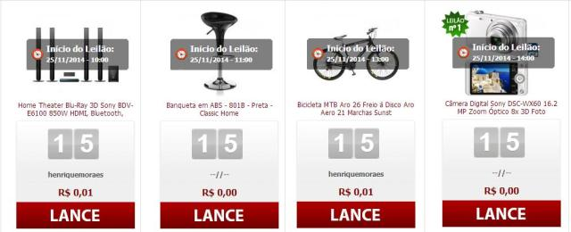 leilão free