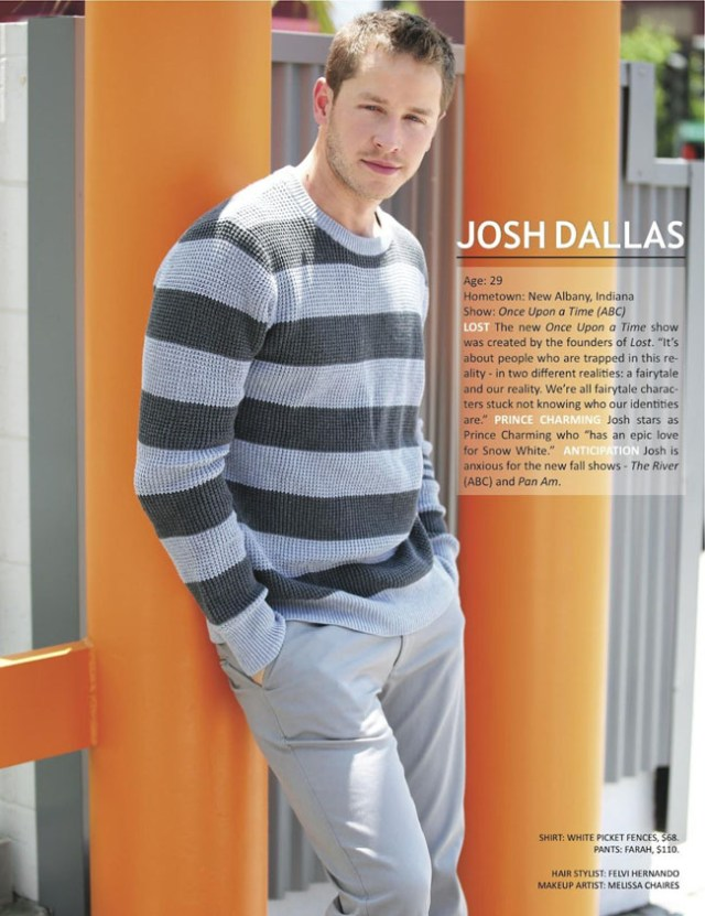 Josh Dallas - 13