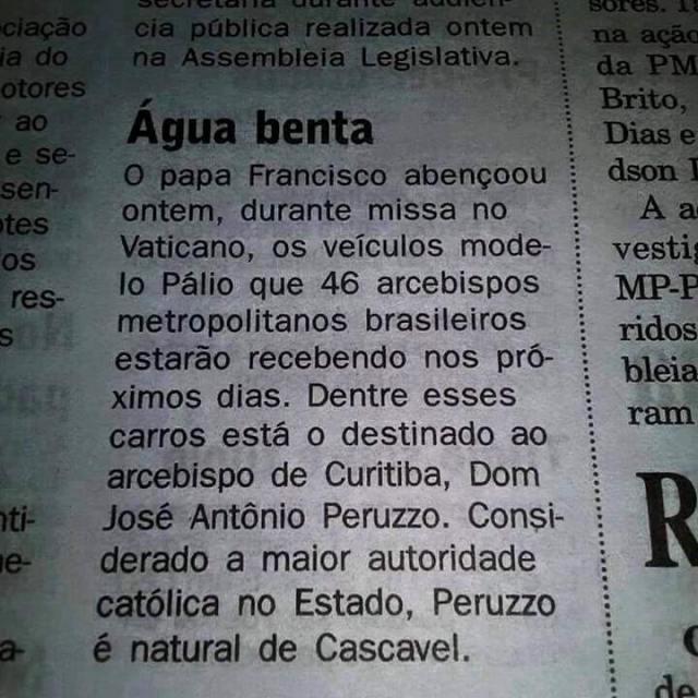 a ignorância da imprensa brasileira