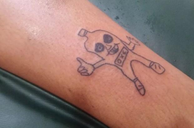 tatuagens malfeitas