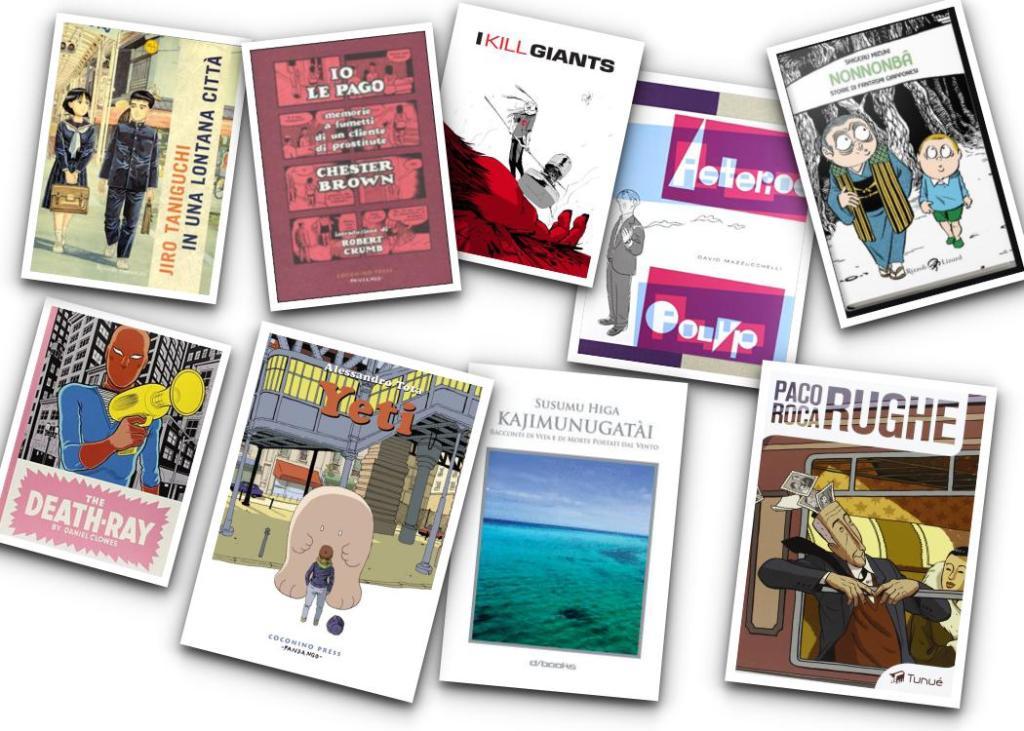 Graphic novel diverse