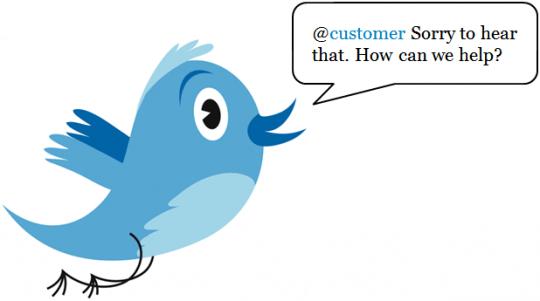 customer service via social media platforms