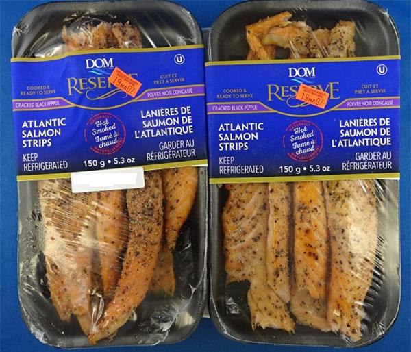 Dom Reserve: Atlantic Salmon Strips: 150 g
