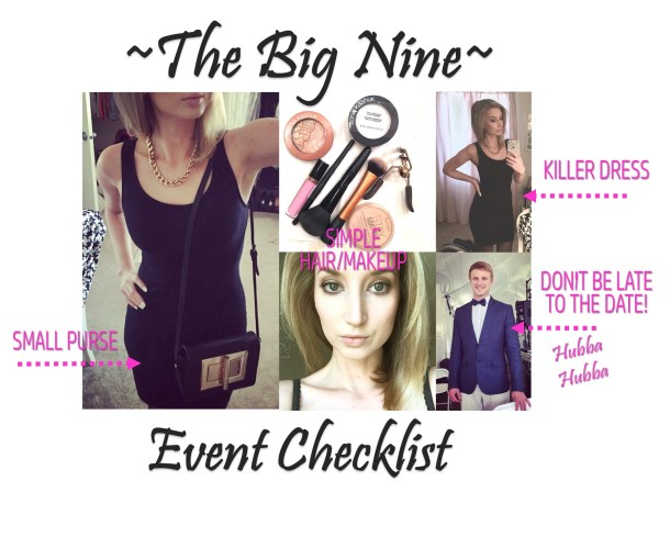 The Nine Point Checklist You Need for Your Next Night Out