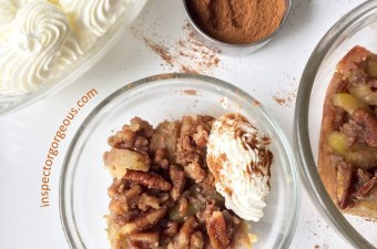 Caramel Zucchini Crumble: Because Apples are Passé