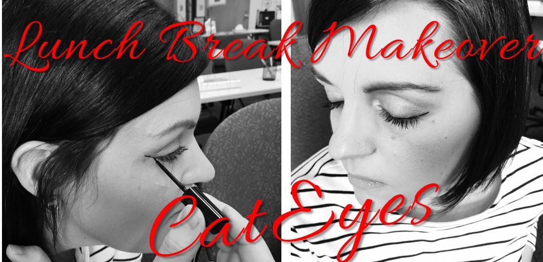 Lunch Break Makeover Cat Eye Hack