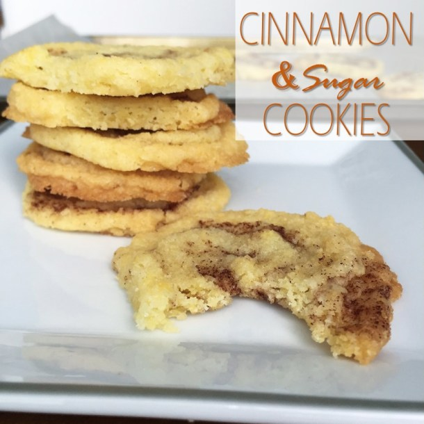 Cinnamon & Sugar Cookies {sans} Icing: Yes, They're That Good