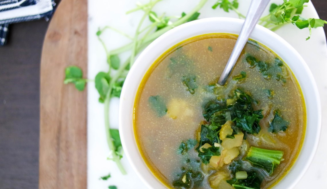 Kale and Watercress Soup