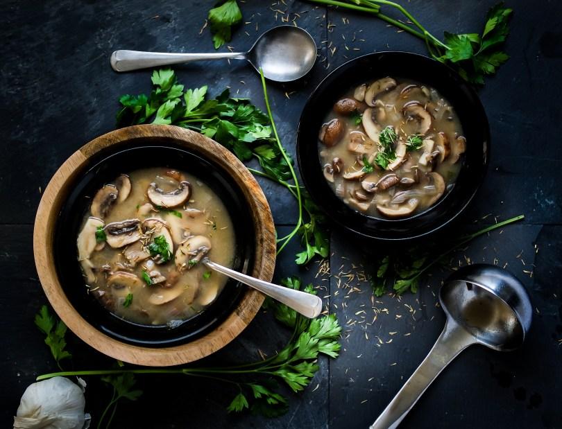 Hearty Portobella Mushroom Soup