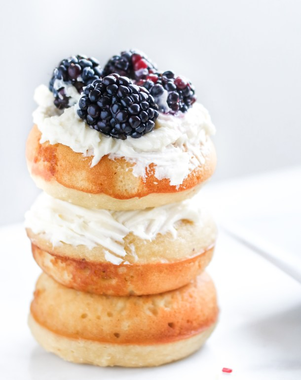 Gluten Free Baked Yeast Donuts