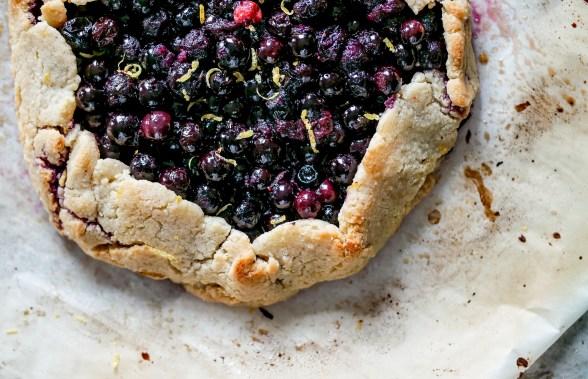 Gluten Free Blueberry Galette-2433