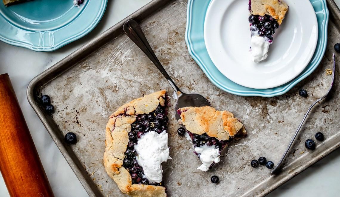 Gluten Free Blueberry Galette-2529